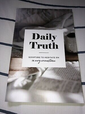 The Daily Grace Co. Daily Truth - Scripture To Meditate On, Christian Books