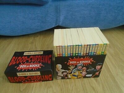 Horrible Histories Blood-Curling Box 20 Books Set Terry Dreary Fun & Educational
