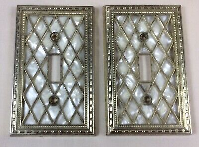 Vintage Mid Century Modern American Tack /& Hdwe 1976 Switch Cover