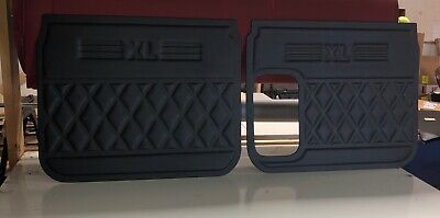 Freightliner Classic XL, FLD Vinyl Covered Custom Made Door Panel Set....Black
