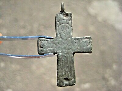 ANCIENT RARE CROSS PENDANT Anglo-Scandinavian type Viking Kievan Rus 9-10 centur