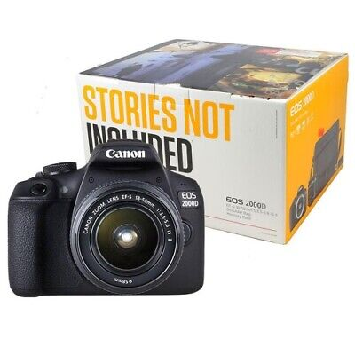 Canon EOS 2000D Value Kit (EF-S 18-55mm) Umverpackung Difettoso
