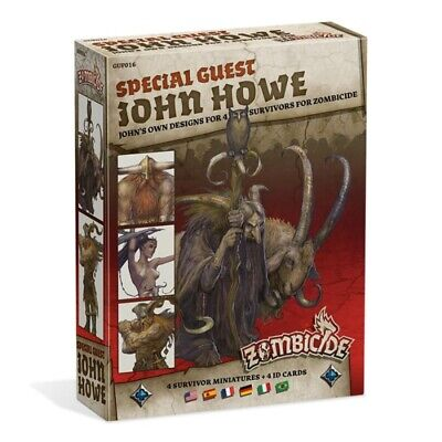 Zombicide Black Plague - Special Guest John Howe (Multiidioma)