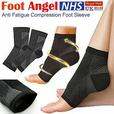 2 x Plantar Fasciitis Compression Socks Heel Foot Arch Pain Relief Support