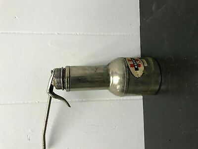 Vintage Original Huffy Oil Can W/spout Bicycle Bikes Repair Gas & Oil Chrome