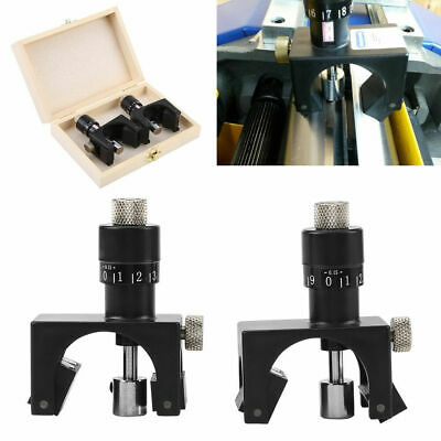 2x Magnetic Adjustable Planer Jointer Blade Setting Jig Gauge Wood Woodworking