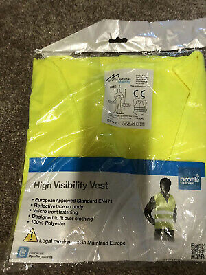 High Visability Vest (Large) In Yellow