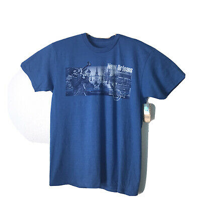 Hard Rock Cafe New Orleans Blue T-Shirt With Tags