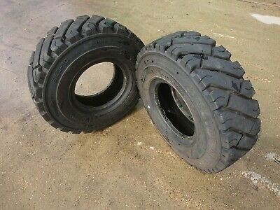 Forklift/Industrial Tyre 6.50 10 Solideal Part Worn