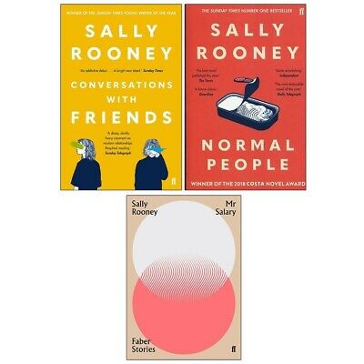 Sally Rooney 3 Books Collection Set               (E  BOOK)