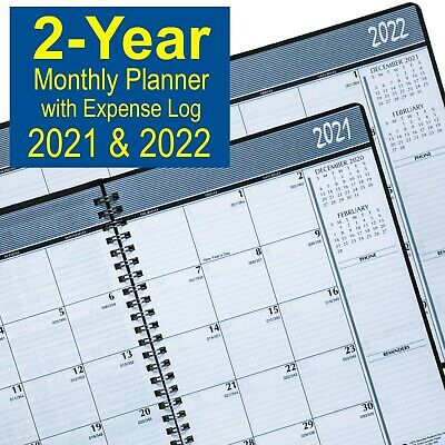 2021 & 2022 House of Doolittle 2680-02 2-Year Monthly Planner, 6-7/8 x 8-3/4""