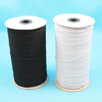 5 ,10 or 20 METRES ELASTIC 3mm,5mm,6mm FLAT ELASTIC CORD STRETCH  MASK SEWING