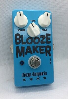 """1/"""" Russian Big Muff Chicago Stompworks BLUE BEAR /""""Civil War White and Blue V"""