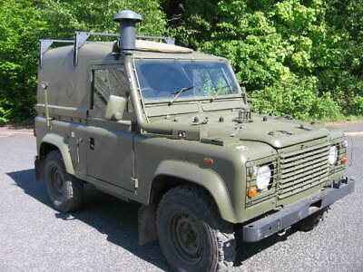 Land Rover 90 Swb Hard Top Ex Royal Marines Winterized And Water Proofed