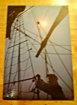 "POSTCARD VINTAGE 4"" x 6"" MARYLAND DOVE ST. MARY'S CITY, MARYLAND SAILS"