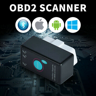 OBD2 Bluetooth Scanner Scan Tool IOS Android Bluetooth Diagostic Code Reader