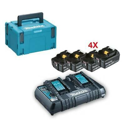 Kit Energy 18V 5,0Ah - with Chargers Quick Double post Makita 197626