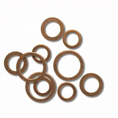 Gasket Copper Annealed for Fitting Sanitary d.1 / 2X2 100 Pieces Tirinnanzi