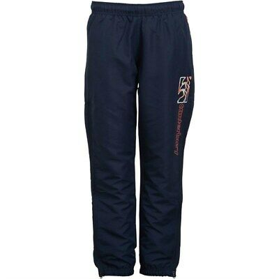 Canterbury Rugby Boys Kids CCC Tapered Cuff Woven Pants - Navy - New
