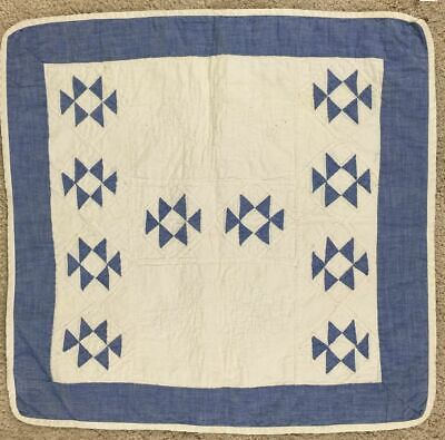 Doll Quilt, Double X. C 1940-50