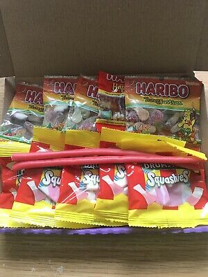 Haribo Sweet Box . Lock Down Sweet Treat . Gift Tag And Wrapped