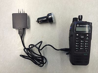 MOTOROLA XPR6550 6350 6300 Lion BATTERY CHARGER VEHICLE USB A/C D/C  RLN6433