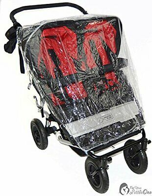 Raincover Compatible with Maclaren Twin Triumph Double Pushchair 213