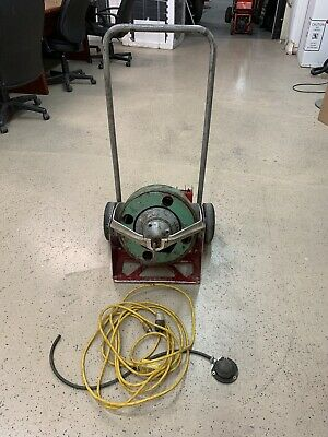 Spartan 100 drain cleaning sewer snake machine