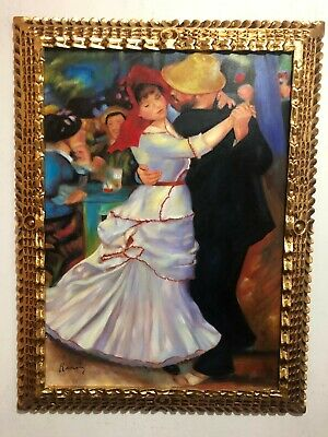 Pierre-Auguste Renoir Artist Oil Painting On Canvas Framed 25 X 33'' ''C'