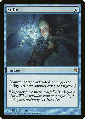 Stifle Conspiracy NM-M Blue Rare MAGIC THE GATHERING MTG CARD ABUGames