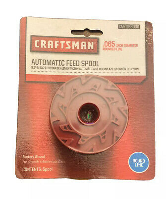 Craftsman Trimmer Line Automatic Feed Replacement Spool  .065 Inch Diameter ~ N