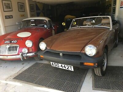 MG Midget 1978 (T) Been laid up from 1981 (sleeping) until September this year