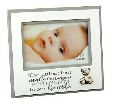 Baby Girl/Boy White Photo Frame Newborn Baby Arrival Gift Quality Product
