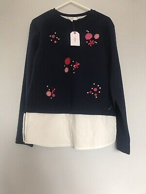 Girls Jasper Conran Navy Blue Jumper Age 12-13