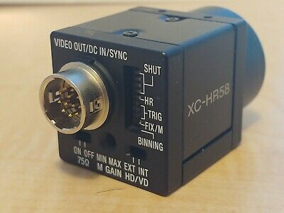 "Sony XC-HR58 Progressive Scan Camera 1/2"" Sensor C Mount"