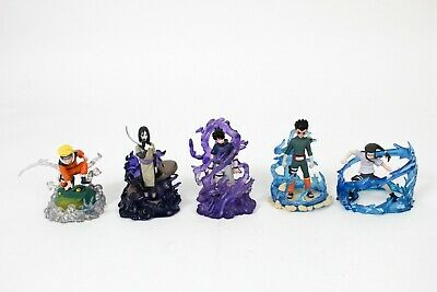 5 - Naruto Real Collection Gashapon Part 2 Figure Orochimaru Lee Neji Sasuke