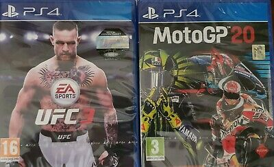 EA Sports Sony PlayStation 4 UFC 3 Game,UFC 3 PS4 NUOVO SIGILLATO PAL EU