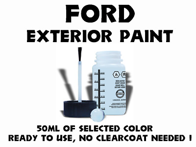 Ford Do It Yourself Car Paint 50Ml Bottle For Touch Up, Most Colors