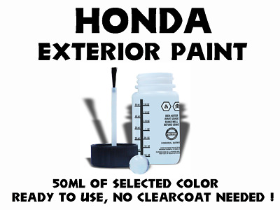 Acura/Honda Do It Yourself Car Paint 50Ml Bottle, Many Colors To Choose