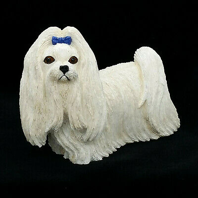 Sherratt Simpson 2004 Country Artists Standing Maltese Dog Figurine 89132
