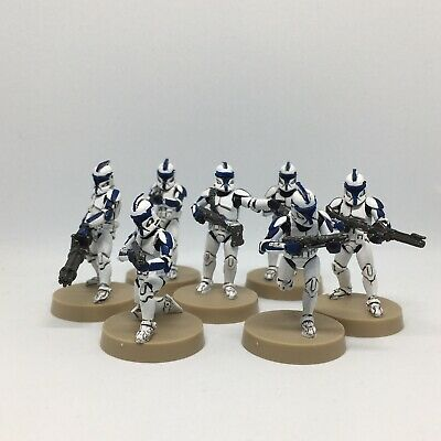 Star Wars Legion Clone Troopers (Exclusive Armor-The 501st) Painted