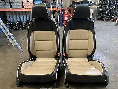Vw Eos 06-15 Convertible Complete Interior Heated Leather Seats Door Cards