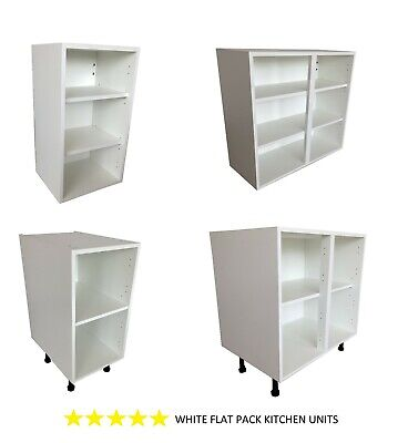 Kitchen Units Base Units And Wall Units  290 360 720 And 900 High Walls In White