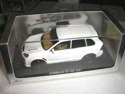 Spark 0727 - Gemballa GT 550 2007 white - 1:43 Made in China