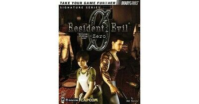 Resident Evil Zero Official Strategy Game Guide PDF by Brady Games
