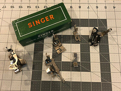 Vintage Singer Sewing Machine 301 Attachments 160623