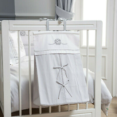 Funnababy ABC Design Nappy Stacker Nursery Grey and White