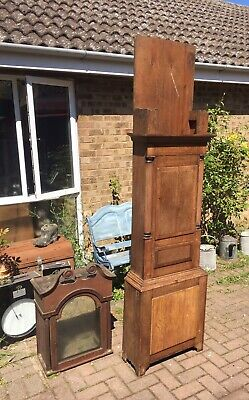 OAK LONGCASE GRANDFATHER CLOCK CASE only collection Lincoln
