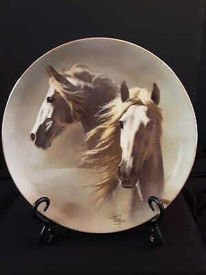Fred Stone Horse Collector's Plate Andalusian Original Box