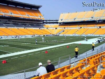 (5) Steelers vs Browns Mobile Tickets Sidelines Lower Level!!